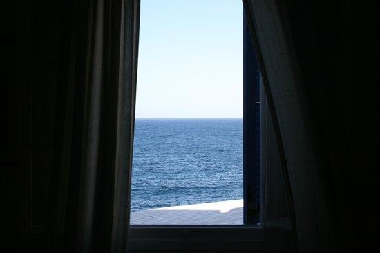 Delfini Hotel Sifnos: vue de la fenetre