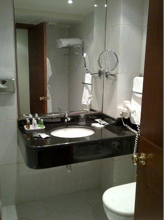 Plaza Hotel: Baño