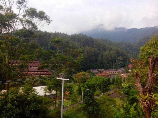 Casa Monte Rosa Hotel – Puncak Mountain Resort: View from room