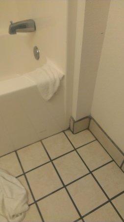 Americas Best Value Inn & Suites: dirty bathroom