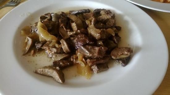 Ristorante da Luigino: coratella con cipolle