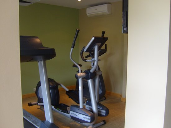 Le Lagon Hotel : La salle de sport