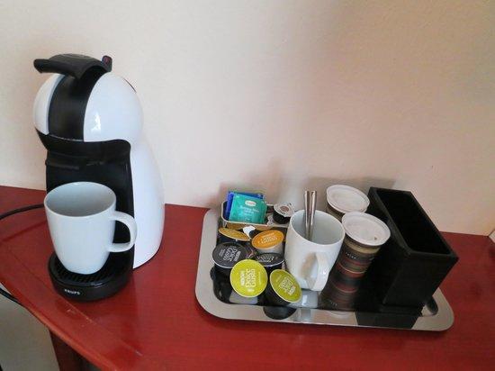 Best Western Premier Hotel Slon: Complimentary coffee