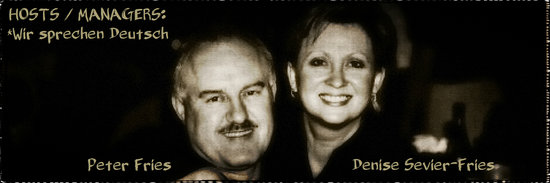 Park Motel: YOUR HOSTS and MANAGERS: Denise & Peter (Deutsch Sprechen)