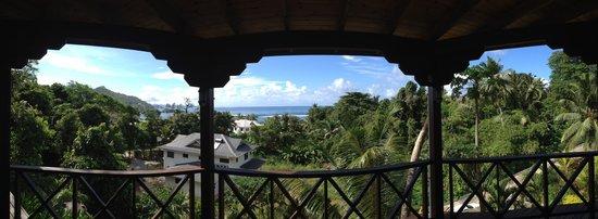 Villas de Jardin: Der Ausblick von der Terrasse/Balkon