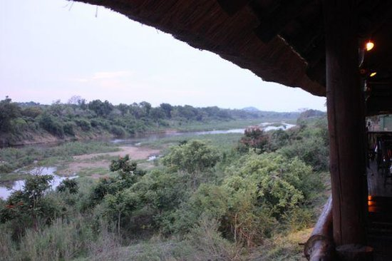 Rio Vista Lodge: View from the restaurant