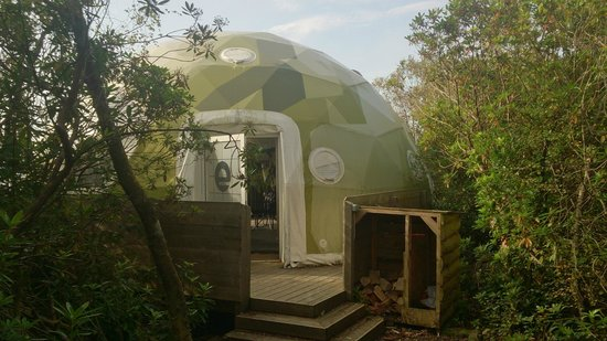 Castle Stalker View Cafe : The Ecopod
