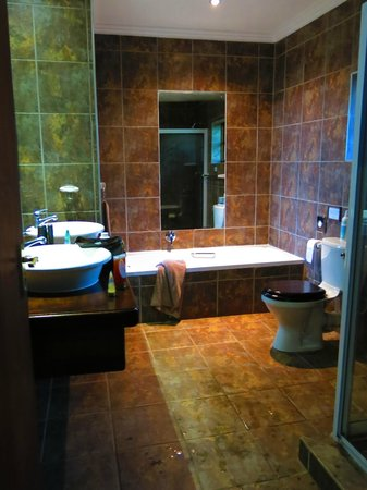 Gwahumbe Game & Spa: Serangeti bathroom