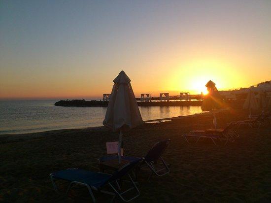 Knossos Beach Bungalows & Suites : Пляж