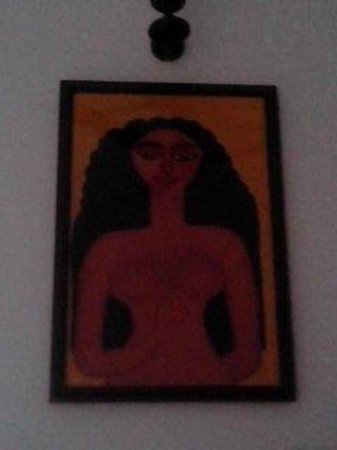 Maya's Nest: my favourite painting, in my room
