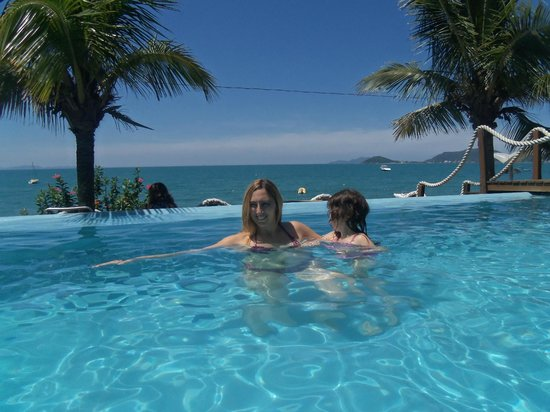 Canasvieiras: no hotel em frente a praia