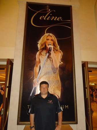 Celine Dion at the Colosseum at Caesars Palace : The poster