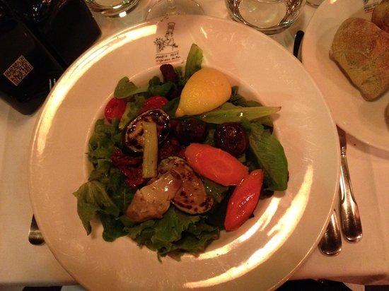 Marco Polo : salade mixte
