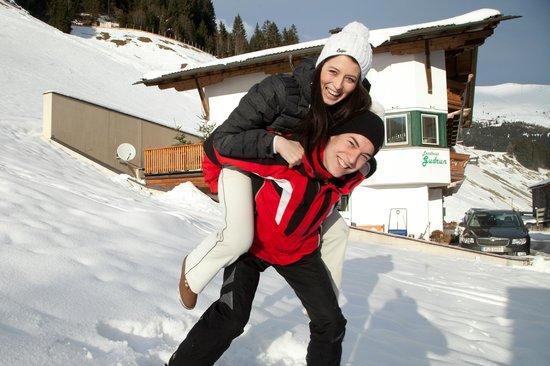 Landhaus Gudrun Tux, Spaß im Schnee