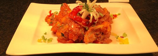 Indie Spice Naas : Come to try our social prawn dish !
