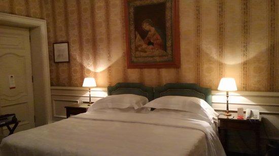Helvetia & Bristol Hotel: お部屋はゆったりしています