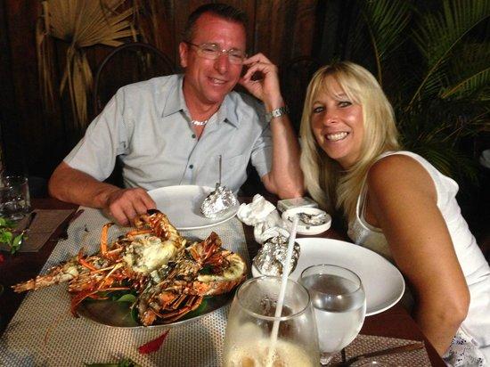 Dreams La Romana: Las Palmas Restaurant...Say hello to Gigi!