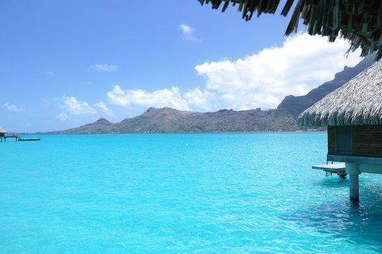 InterContinental Bora Bora Resort & Thalasso Spa: Das war unser Blick von der Terrasse