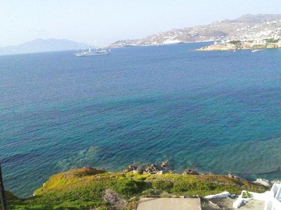 Akrotiraki: View from the room