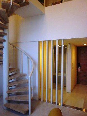 Kartika Graha: Treppe nach oben