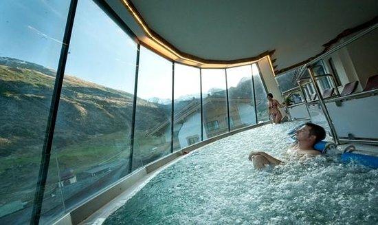 Alpenbad Hotel Hohenhaus: Gletscherpool