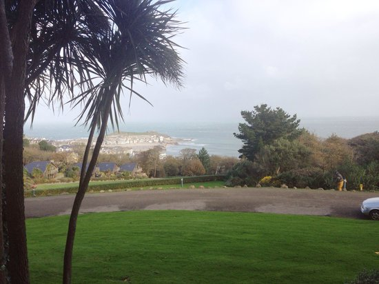 Tregenna Castle Resort : Lovely View. West Wing, Sea View Room