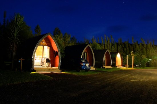 Hot Water Beach TOP 10 Holiday Park: Deluxe cabins