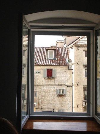 Dosud Apartments: Split, vista do meu apartamento
