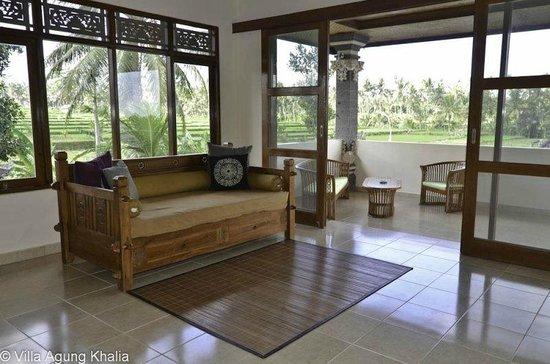 Villa Agung Khalia : Upstairs living rooms Villas 1-3