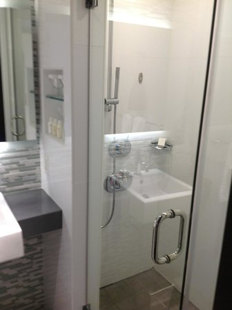 The Palms Hotel & Spa: This is the second half with shower.