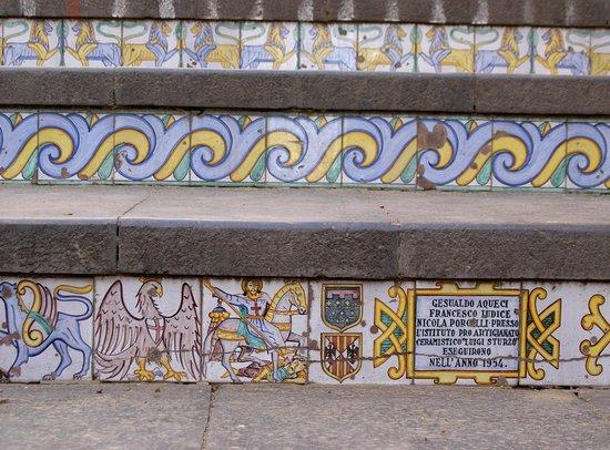 Staircase of Santa Maria del Monte: La scalinata di Caltagirone