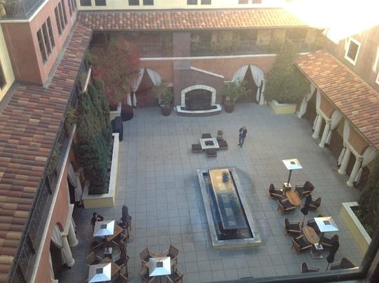 Hotel Valencia - Santana Row: view from our room on the 7th floor