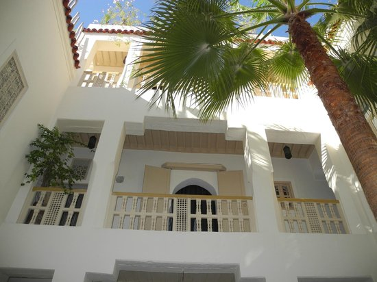 Riad 144 Marrakech: Innenhof