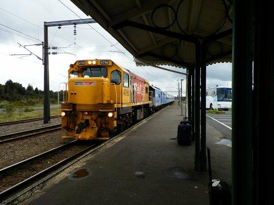 Tongariro Crossing Lodge : National Park Train station