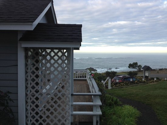 Sea Rock Inn: View from Cottage 2