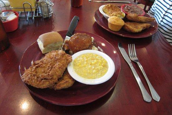 Kitty's Kafe: Fried Pork Chops - The Best!!!