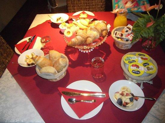 Antica Locanda Lunetta Bed & Breakfast : petit dejeuner delicieux