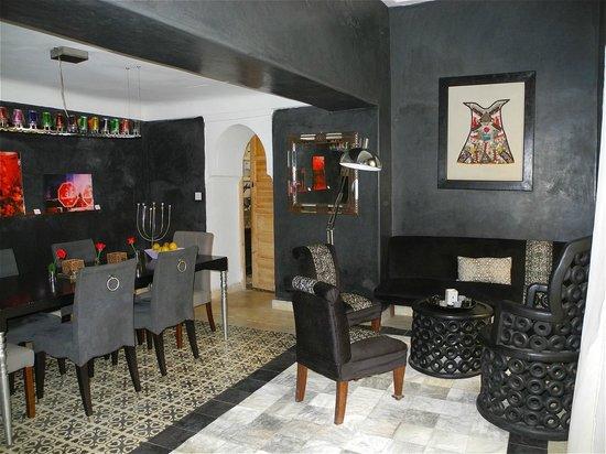 Riad 144 Marrakech : Salon