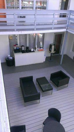 Motel Bianco : comedor