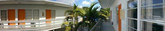 Knights Inn Miami Motel Bianco: vistas