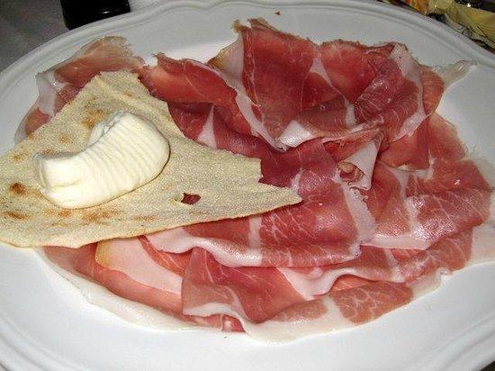 Taverna San Trovaso : Proscuitto appetizer