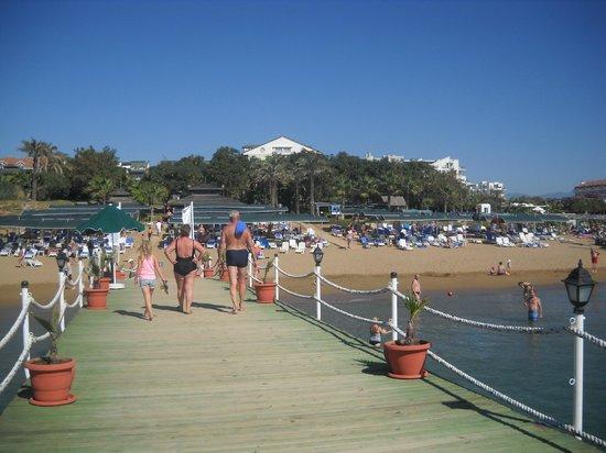 Alva Donna Beach Resort Comfort: пляж