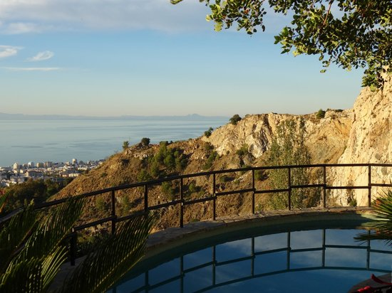 The Urban Villa: View from pool area