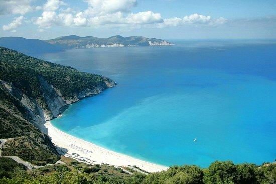 Cephalonia, Grækenland: Spiaggia di Myrtos - Cefalonia