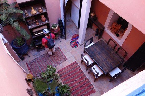 Riad Jakoura: Vue sur le patio