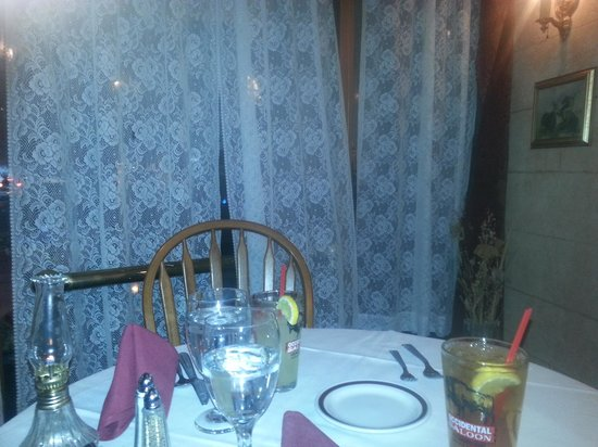 The Historic Occidental Hotel & Saloon and The Virginian Restaurant: fine dining