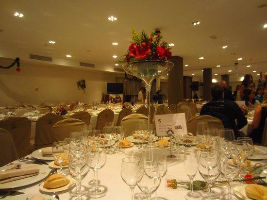 Hotel Vincci Costa Golf: Salón comedor