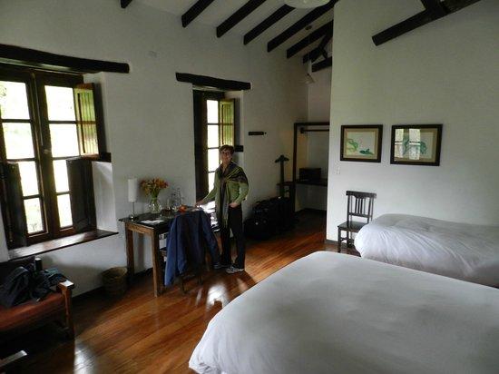 El Albergue Ollantaytambo : space and comfort