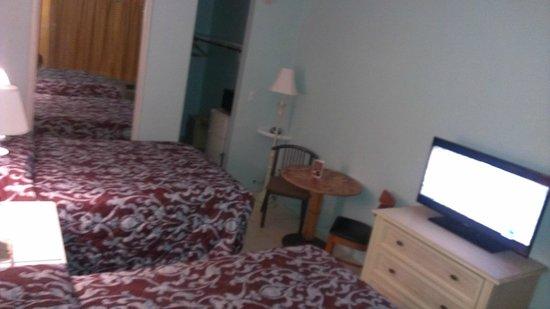 Galt Villas Inn: cama