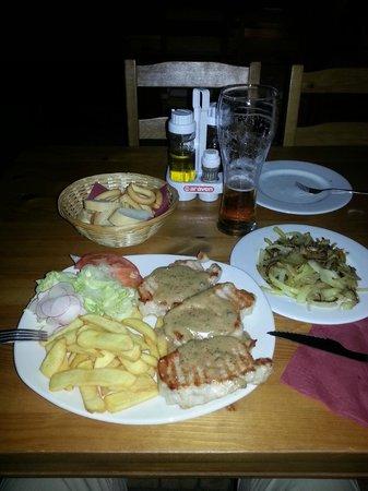 Rocca Grill Restaurant: Helt topp mat